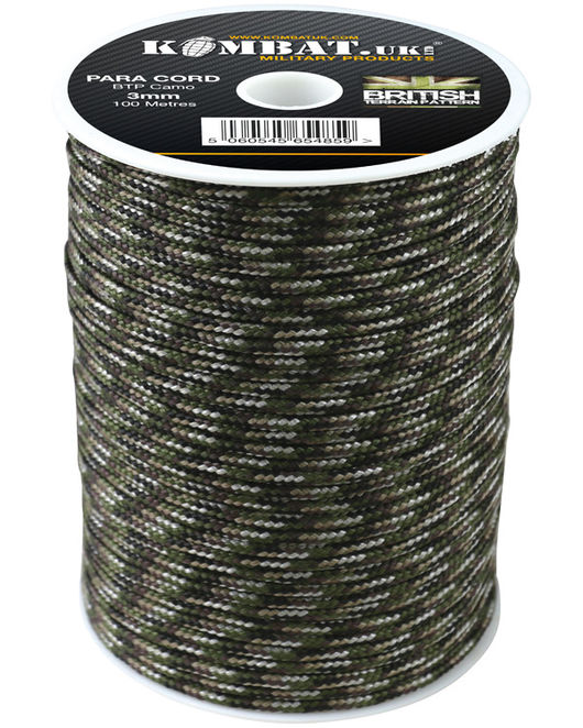 ParaCord on reel - 100m MTP Camo