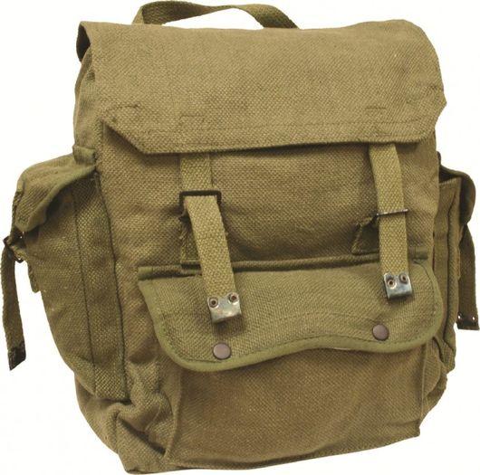 Pocketed Large Webbing Backpack