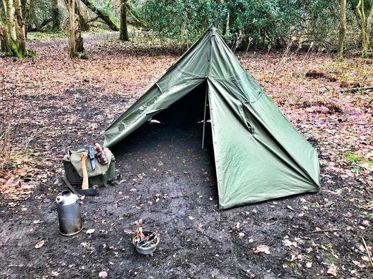 Polish Army Dome Tent Lavvu Teepee