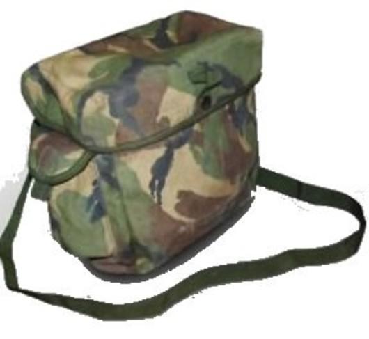 British S10 respirator bag