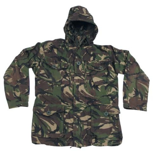 Windproof DPM Smock British Army Combat Jacket SAS