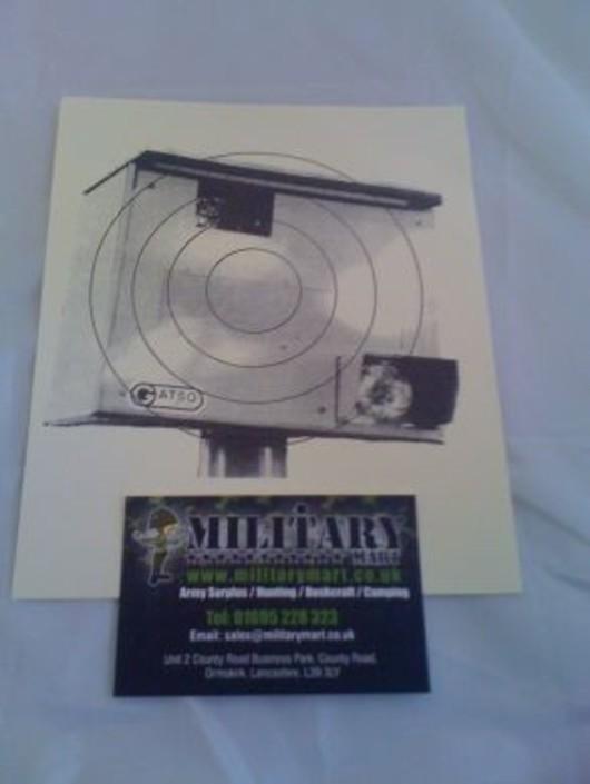 Speed Camera Paper Target