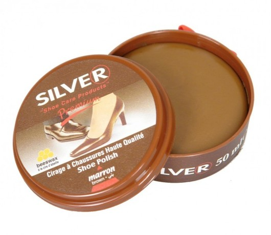 Brown Boot Polish By Silver