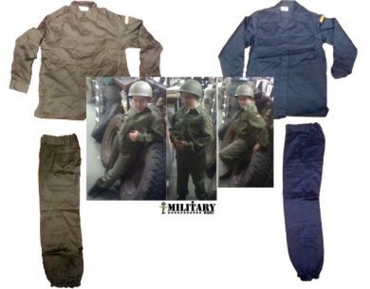 Kids Spanish Army Suit
