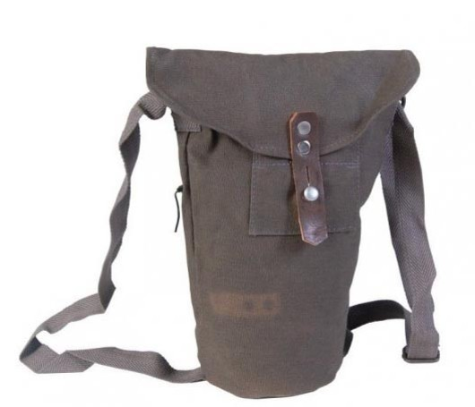 Swedish Army  Civil defence Gas mask bag