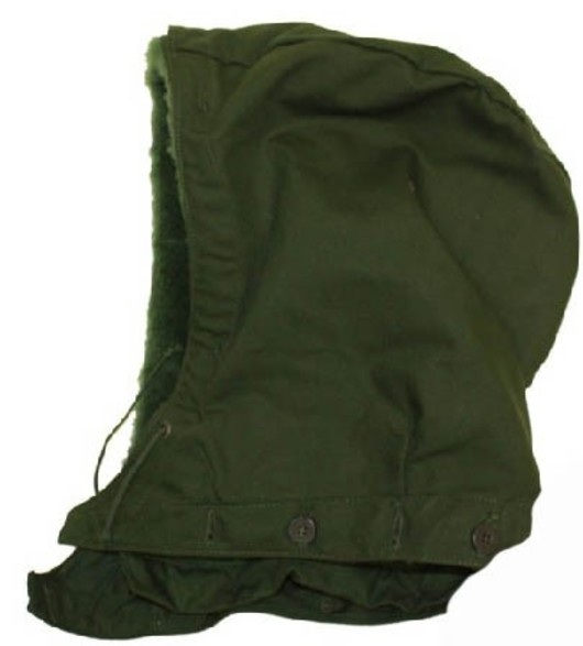 Swedish Army M59 Hood for parka
