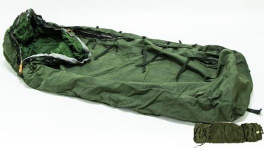 Swedish Bedroll Rescue sleeping bag