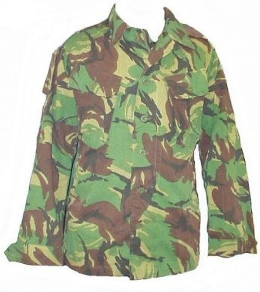 British Army Tropical  Jungle shirt DPM
