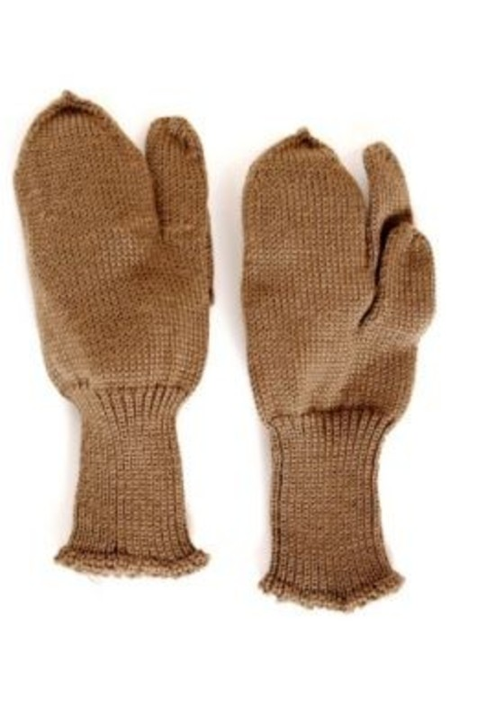 Wool Army Issue Trigger Mitts