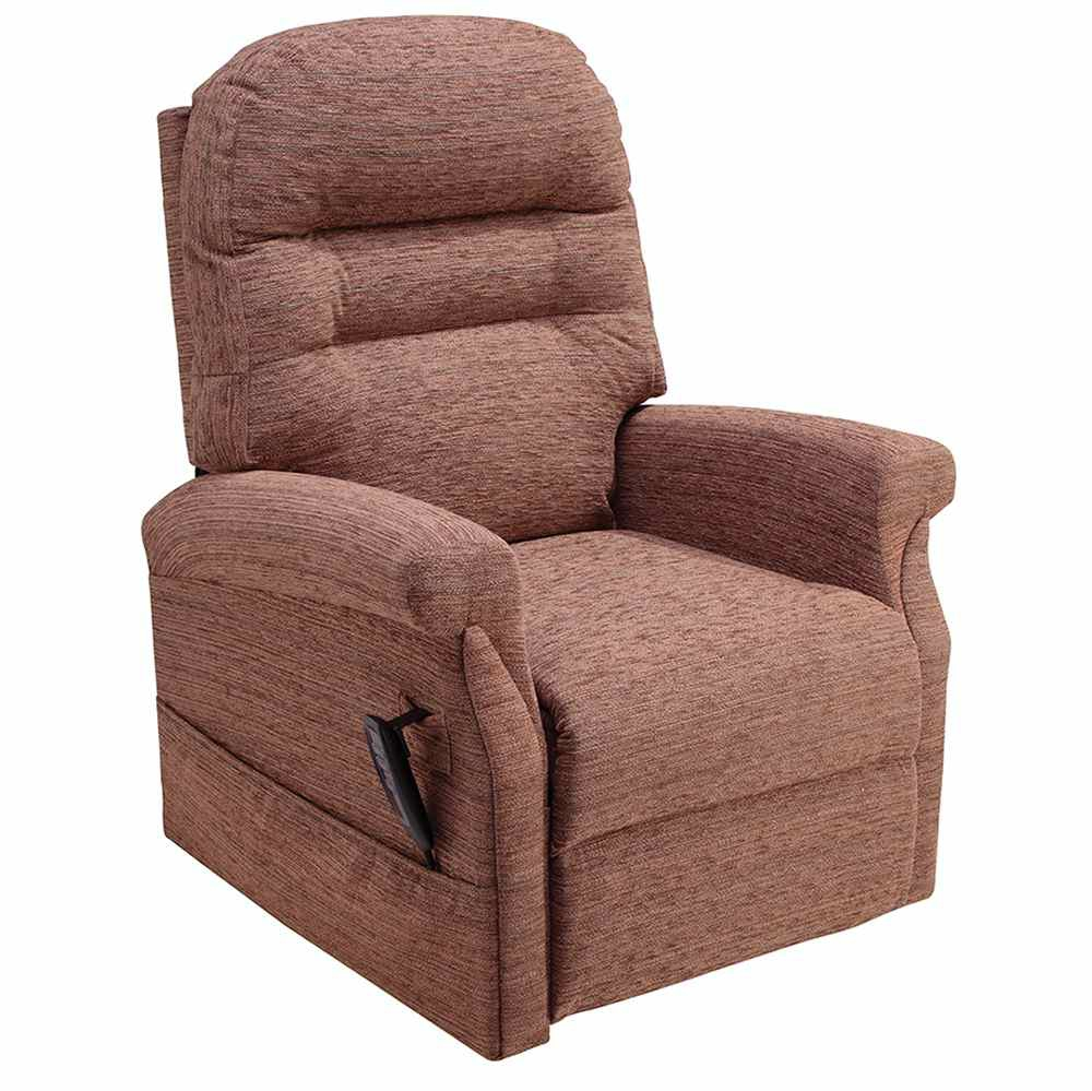 Electric Mobility Lilburn Rise And Recliner Chair Toffee