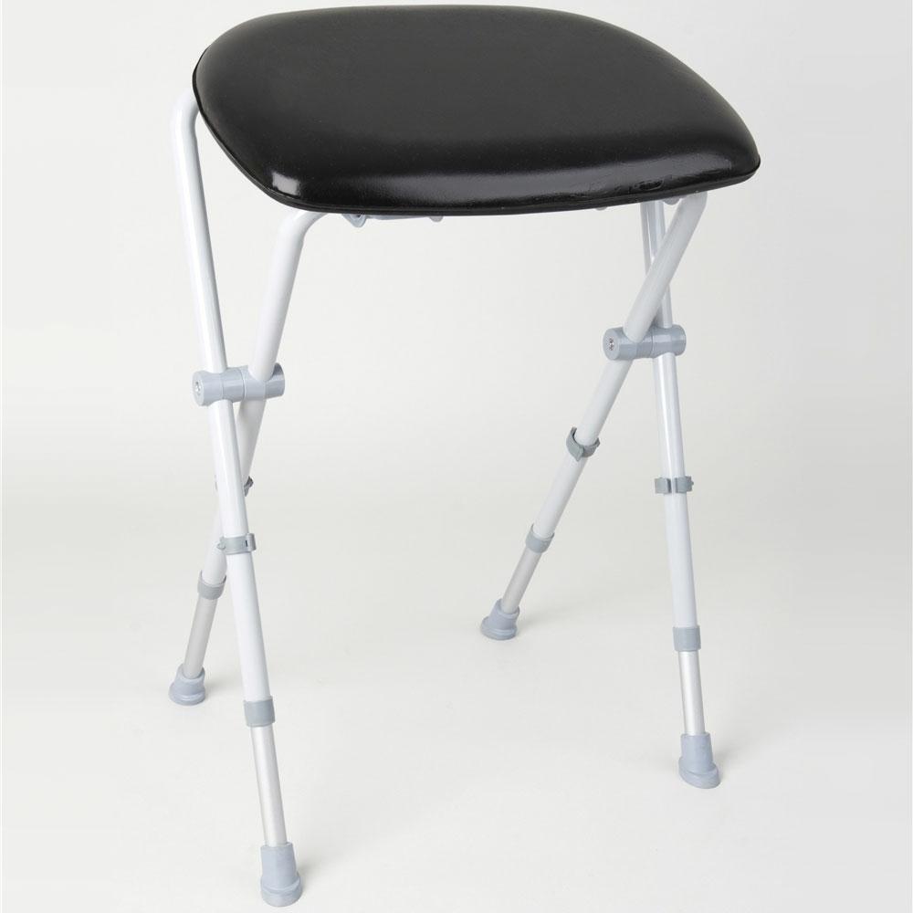 Astonishing Homecraft Sherwood Folding Perching Stool 091310846 Machost Co Dining Chair Design Ideas Machostcouk