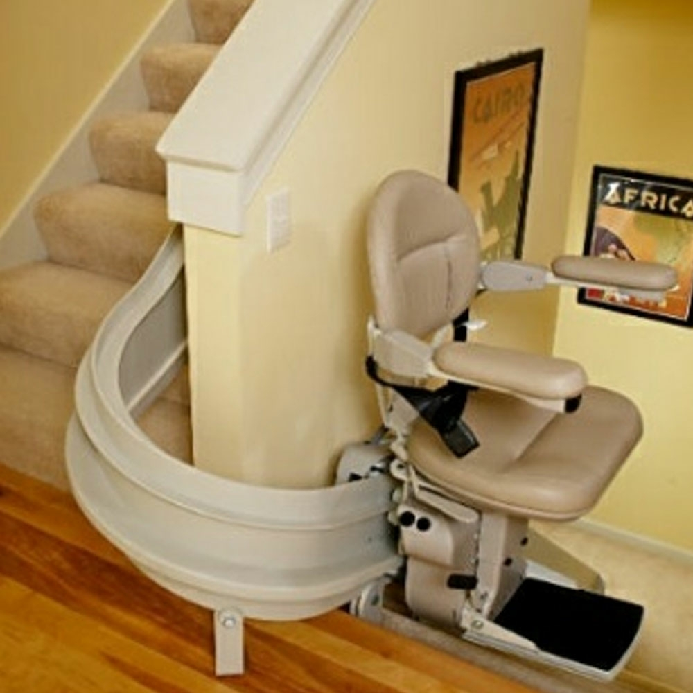 Millercare Bariatric Stairlift Curved Millercare