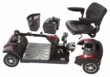 Rascal Veo X Mobility Scooter - Red