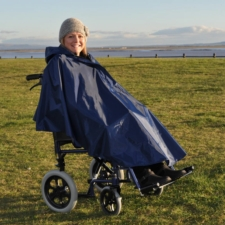 Splash Deluxe Wheelchair Poncho (Lined) - U