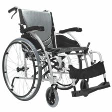 "Ergo 115 Self Propelled Wheelchair Silver 16"" x 17"""