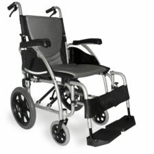 """Ergo 125 Transit Wheelchair Silver 16"""" x 17"""""""
