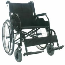 "Robin Self Propelled Wheelchair Black 16"" x 16"" swingway hangers"