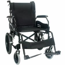 """Econ 805/Wren.2 Transit Wheelchair Black 16"""" x 17"""""""