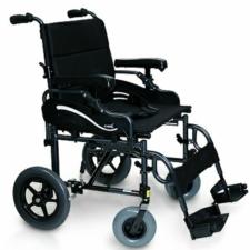 "Heavy Duty Transit Wheelchair Black 20"" x 18"""