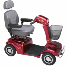 Rascal 388 XL Mobility Scooter - Red