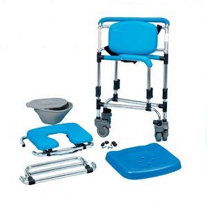 Homecraft Ocean Wheeled Shower Commode Chair - 081443308