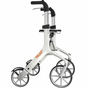 Lets Fly Rollator - White