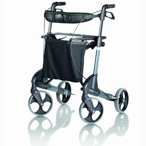 Topro Classic Rollator - Silver - Various Sizes