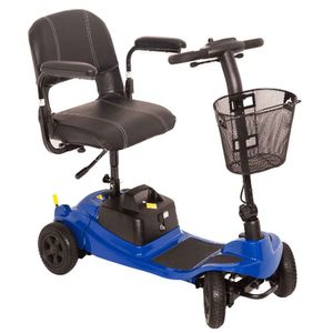 One Rehab Liberty Mobility Scooter in Blue