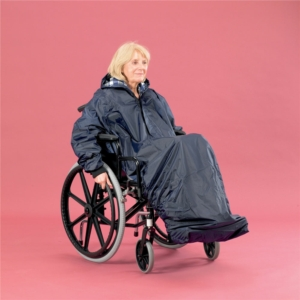 Wheelchair Clothing Mac With Sleeves Extra Long
