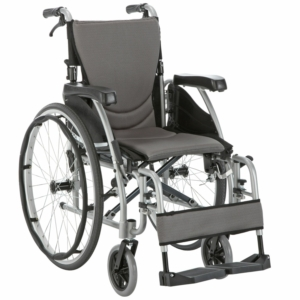 "Ergo 125 Self Propelled Wheelchair Silver 16"" x 17"""