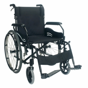 "Econ 805/Wren.2 Self Propelled Wheelchair Black 16"" x 17"""