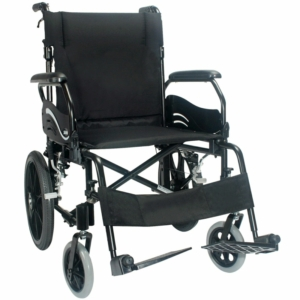 "Econ 805/Wren.2 Transit Wheelchair Black 16"" x 17"""