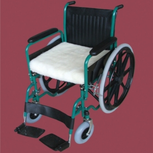 "Wheelchair Cushion Luxury Fleece 406Mm (16"") Wide"