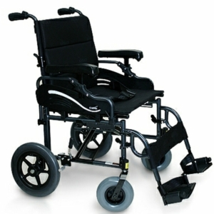 "Heavy Duty Transit Wheelchair Black 20"" x 18"""
