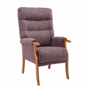 Orwell Tailored Back Chair - Mink