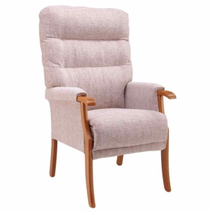 Orwell Tailored Back Chair - Oatmeal