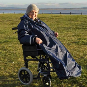Deluxe Wheelchair Mac sleeved(lined) - M