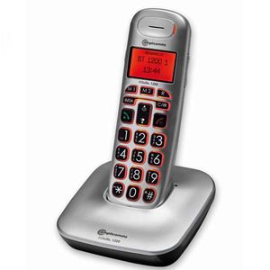 BigTel 1200 Cordless Portable Telephone With Big Keys - VAT EXEMPT
