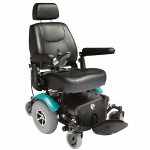 Rascal P327 Powerchair - Teal