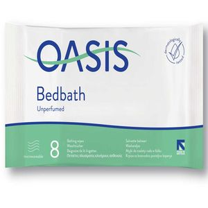 Oasis® Bed Bath Unscented - 8 wipes