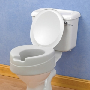 Raised Toilet Seat Comfyfoam With Lid