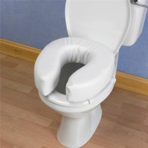 """Raised Toilet Seat Homecraft Padded 10Cm/4"""""""