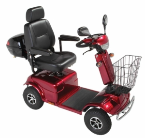 Millercare Osprey Mobility Scooter - Red