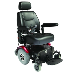 Rascal P327 XL Powerchair - Red