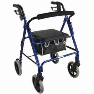 Aidapt Aluminium Rollator - Blue