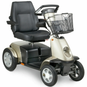 Handicare Trophy Mobility Scooter - Sparkling Champagne