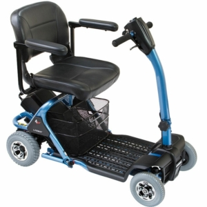Millercare Heron 4 Plus Scooter - Blue