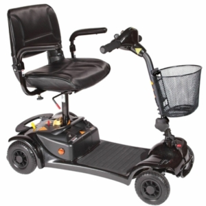 Millercare Merlin Mobility Scooter - Black
