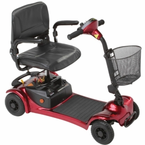 Millercare Merlin Mobility Scooter - Red