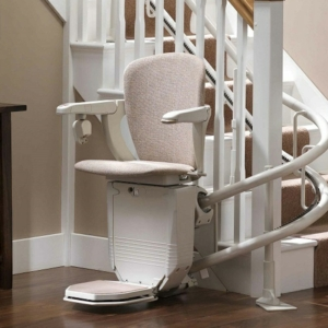 Reconditioned Stannah Starla 260 Curved Stairlift